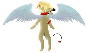 .:Art Trade:. with SkyPikaXx by Crystal-Caie