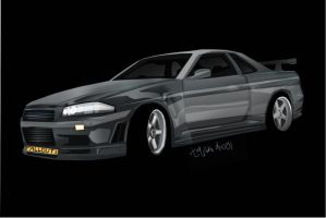 Nissan Skyline by karliashi