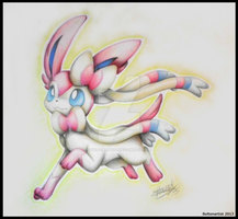 Sylveon by Boltonartist