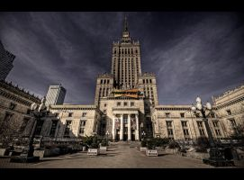Palace of Culture and Science I by Beezqp
