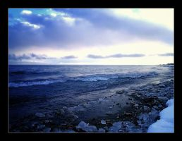 Baikal lake in the midwinter by annfrost-photo
