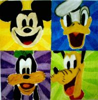 Disney Squares by batmangirl2005