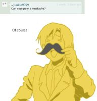 Can you grow a mustache? by StephanoAsk