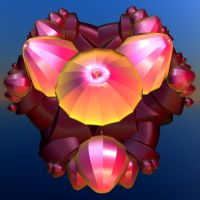 coloured shiny flower buds by Andrea1981G