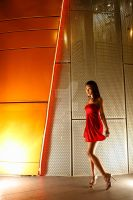 little red dress by fotographica