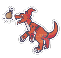 Guilmon Sticker Design by weepysheep