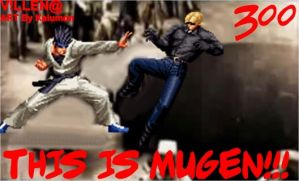 This is MUGEN by VILLENA-MX