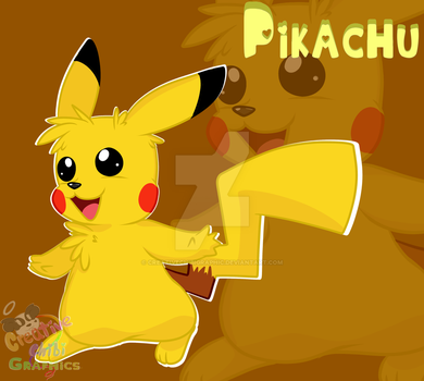 Pikachu by CreativeChibiGraphic
