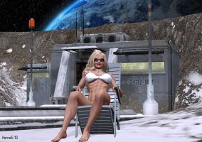 Ultrawoman Lunar Vacation by hotrod5