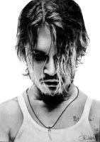 Johnny Depp by XxSanuyexX
