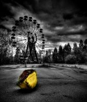 Abandoned Fairground by MusicOwnsMySoul