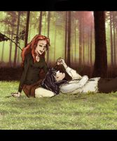 Lily and Severus by Rho92