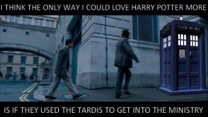 doctor who in harry potter by EllieHickles95