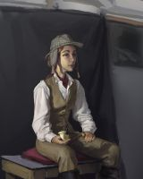 4 Hour Costumed Life Painting 2 by tom-monster