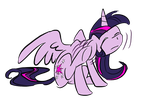 Twilight Scratches Her Ear by itena