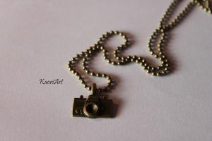 necklace camera by KaoriArt