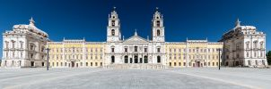 Palacio National de Mafra by ricardoforna