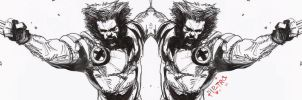 Wolverine DOUBLE-PACK by BlackInksBack