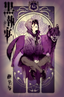 Gregory Violet~ The Violet Wolf by UndertakersDemoness