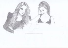 Tarja and Amy by HunBlackPrincess
