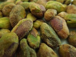 Roasted Salted Pistachios Without Shells by crotafang