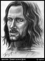 Aragorn: There's always hope by Norloth