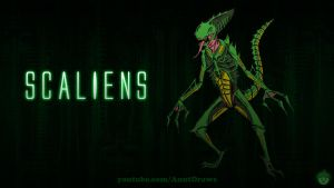 Scaliens by AnutDraws