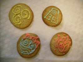 Avatar cookies by emeraldtablet