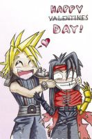 """Happy"" Valentines day by LAV-Kitsune-"