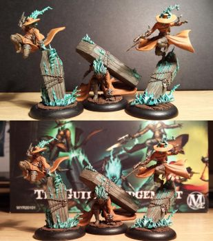 Malifaux Guild Death Marshalls 2nd Edition by Nickienogger