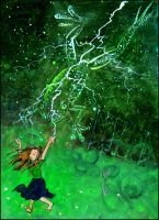 Tabitha and the Lightning by maxine