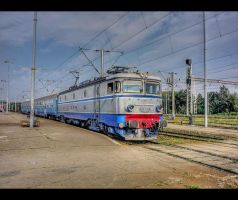 Semifast train... by Iulian-dA-gallery