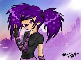 Rockchick City by Darkashter