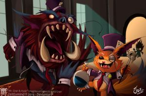 Mr Gnar and Hyde by ZeitExmind