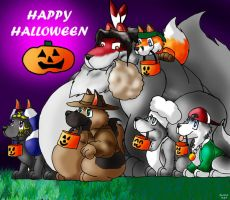 HAPPY HALLOWEEN 2007 by Big-Wolf
