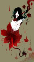 Flower of blood by PassionateSnuff