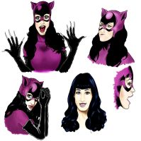 Katy Perry Catwoman concepts by Art-Gem