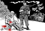 Police extermination policy by Latuff2