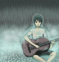 Of Guitars and Rainstorms by criissa