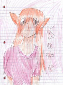 -Redraw- Kate by luckycow3211