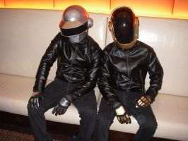 Daft Punk guys by EKMKE