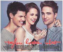 Robert Kristen and Taylor - EW by franzi303