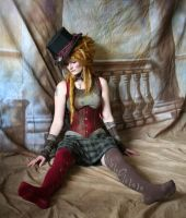Steampunk Circus Doll 6 by mizzd-stock