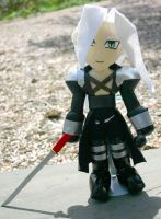 Sephiroth Plushie by TempestStrife