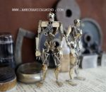 'Brothers' Articulated Watch Parts Humanoids by AMechanicalMind