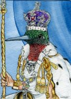 ACEO - The Queen by M-Everham