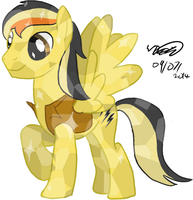 Electuroo Crystal Pony vector by Electuroo