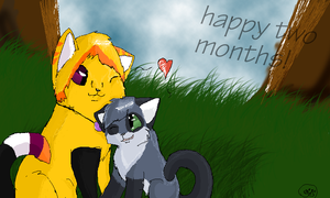 ~.:A Happy Two Months:.~ by XxSilentSnow