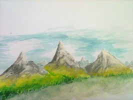 Moutains on paper by Salvarum