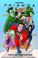 TLIID 207. Super FRIENDS by AxelMedellin